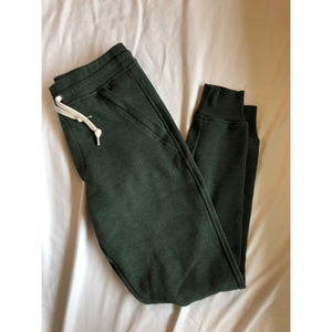 J. Crew/ Jeans Fleece jogger pants - Army Green S